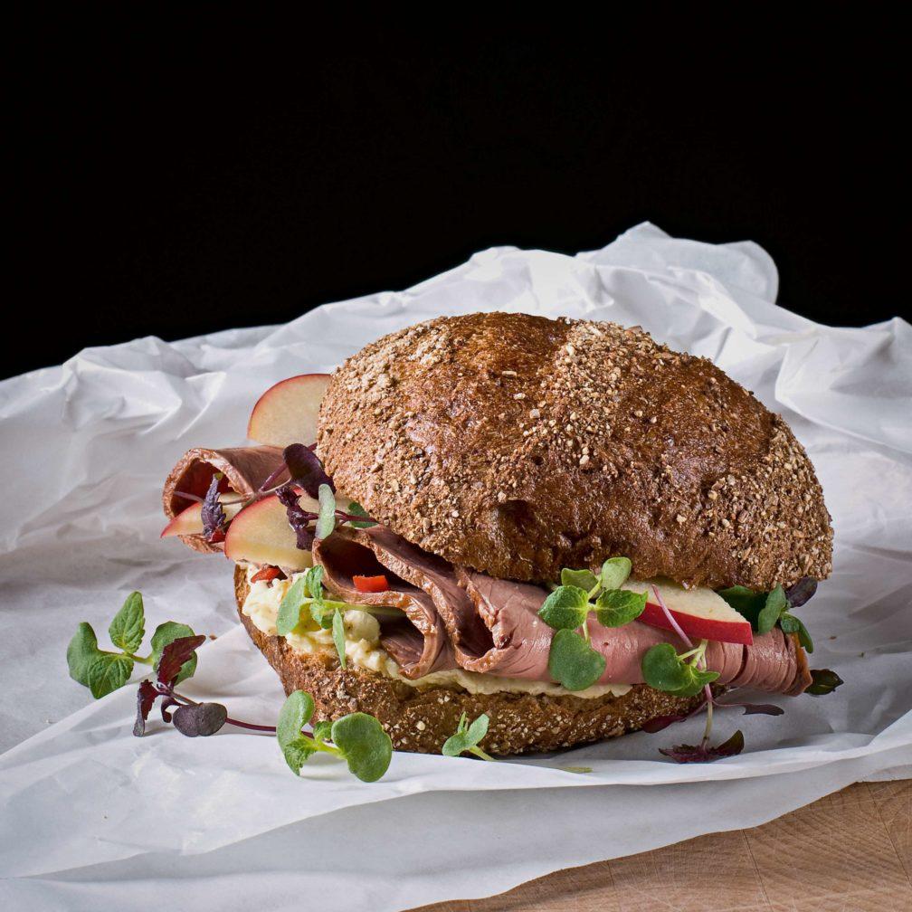 Roastbeef-Kresse-Burger