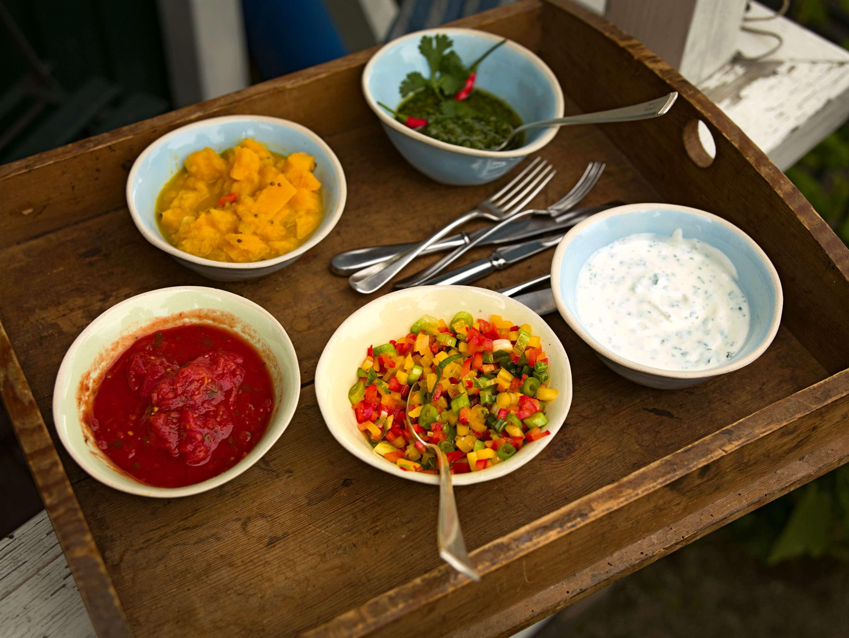 Tomaten-Barbecue-Dip