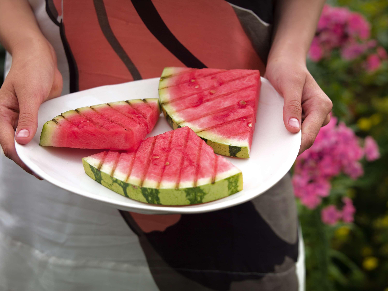 Gegrillte Wassermelone