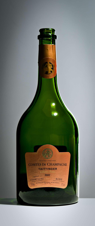 Taittinger Comtes de Champagne Rosé 2002