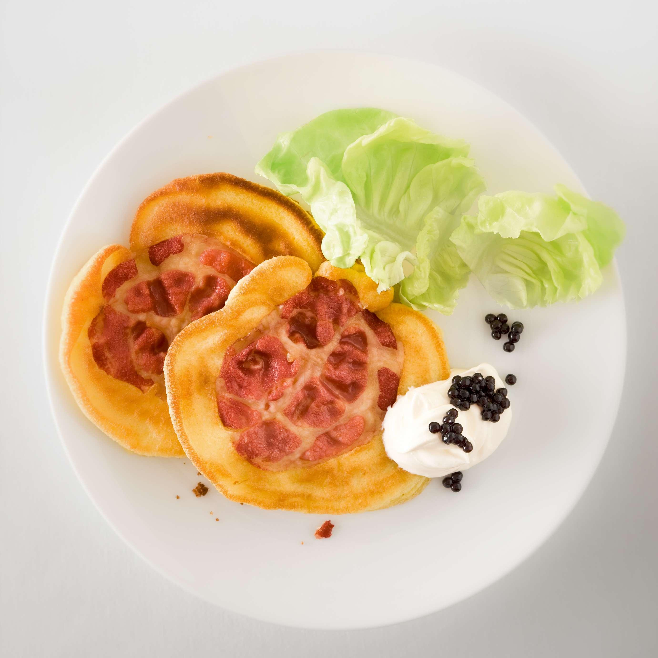Rezept für Pfannkuchen mit Coppa