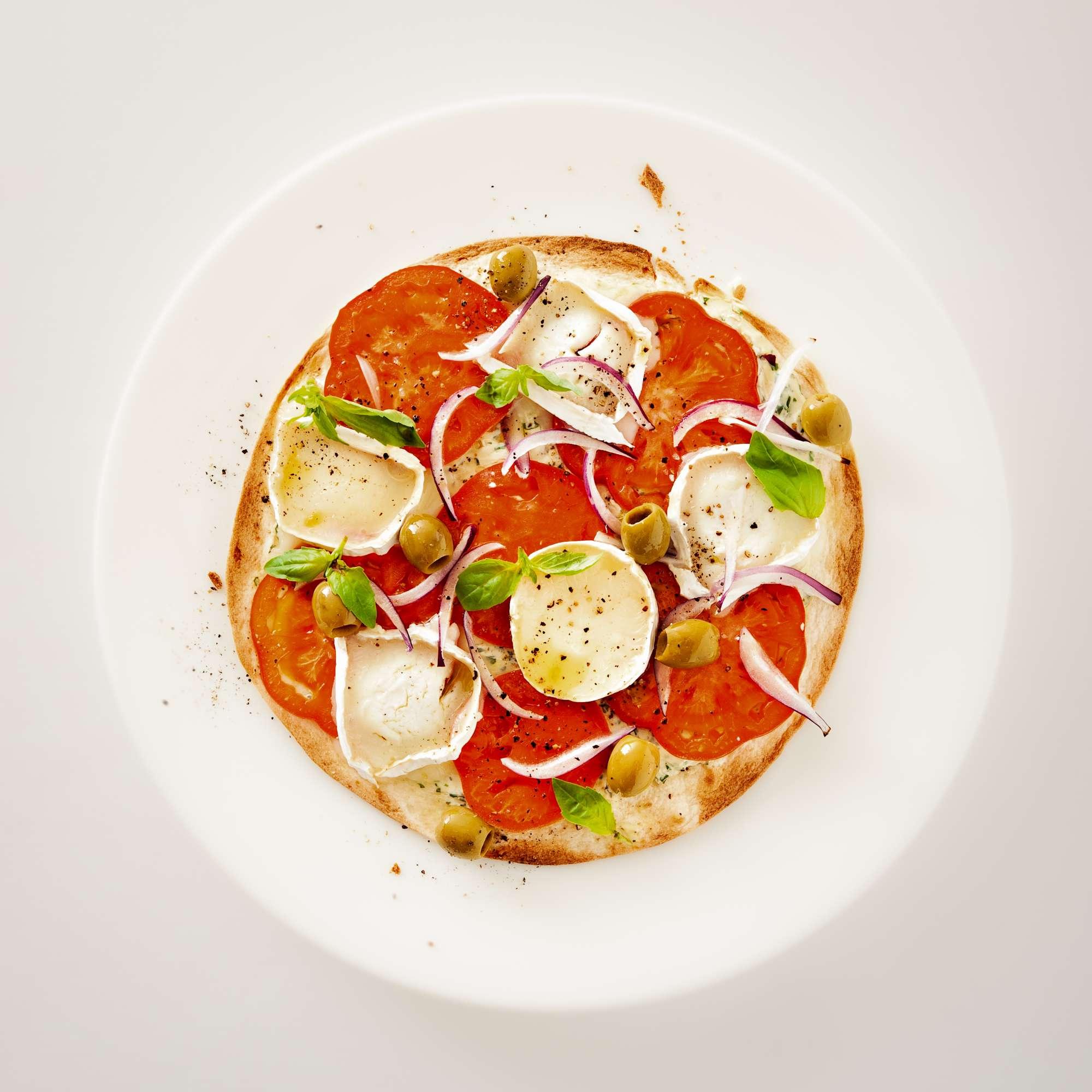 Schnelle Tortilla-Pizza