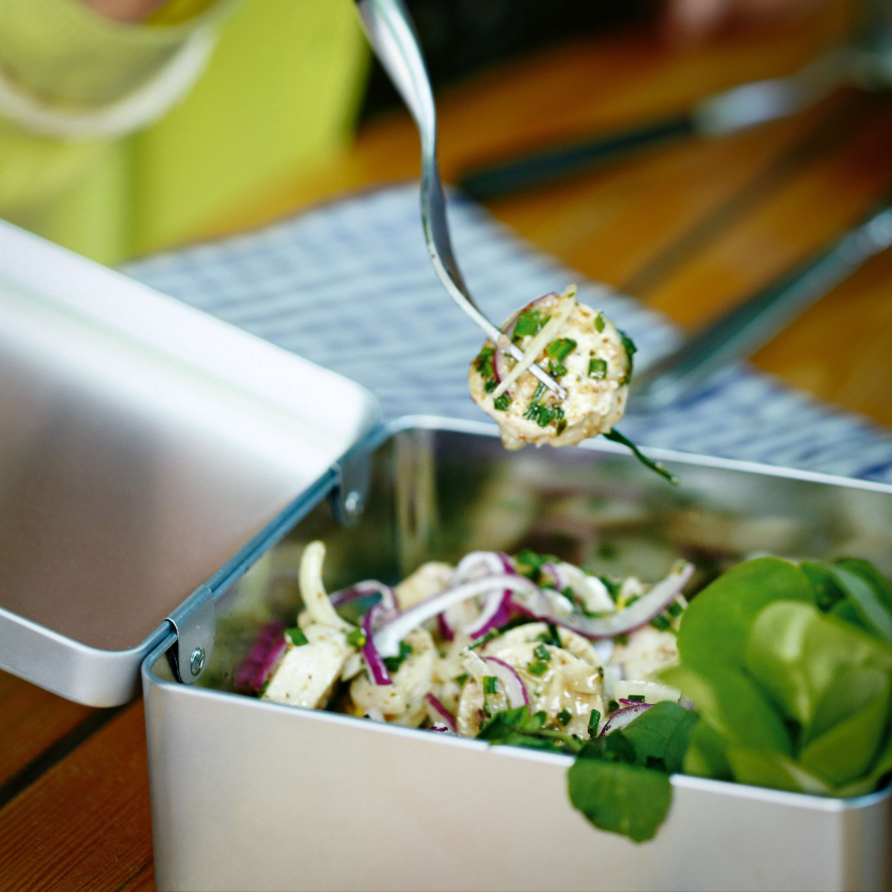 Weißwurst-Salat