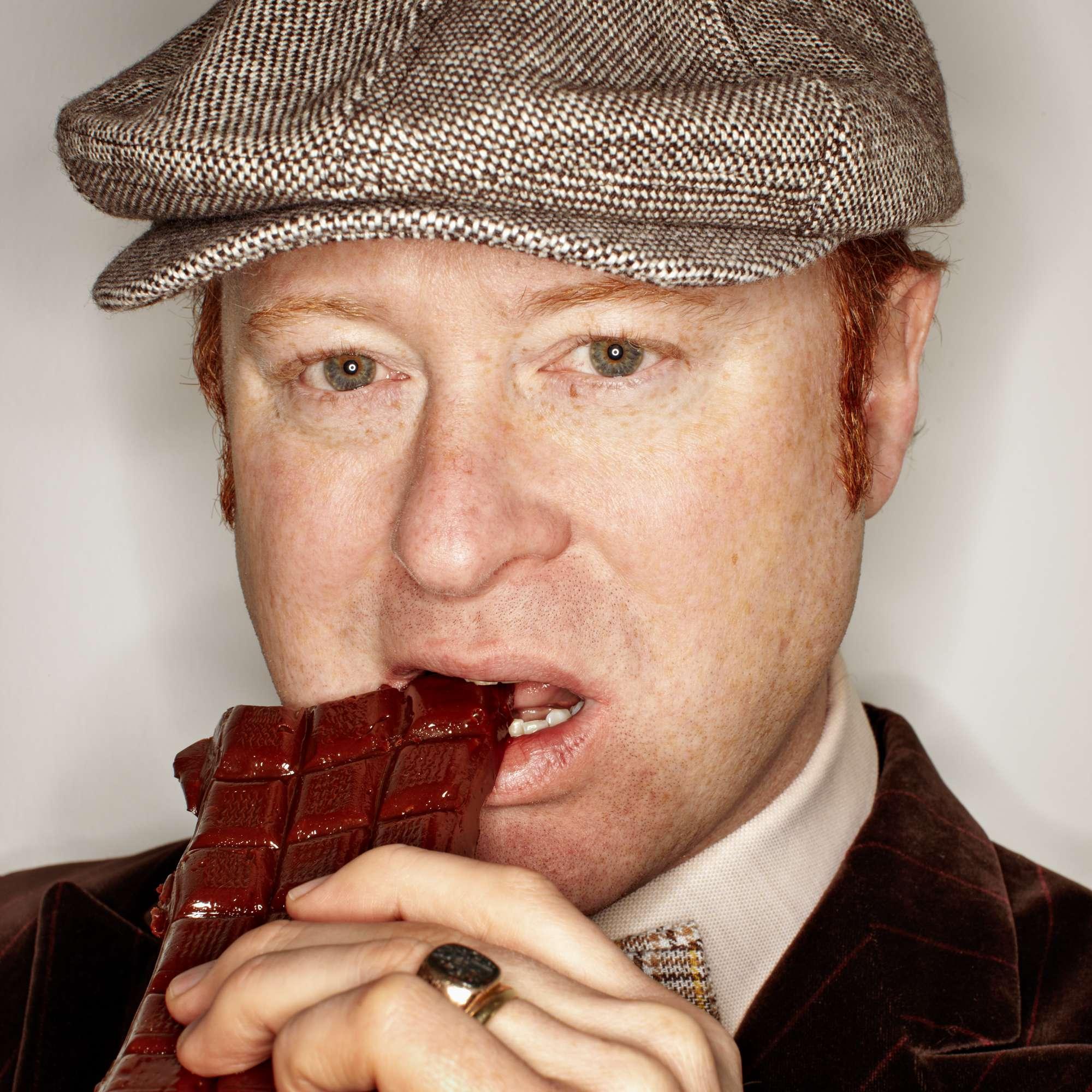 Karamellbonbon-Schokoladentafeln