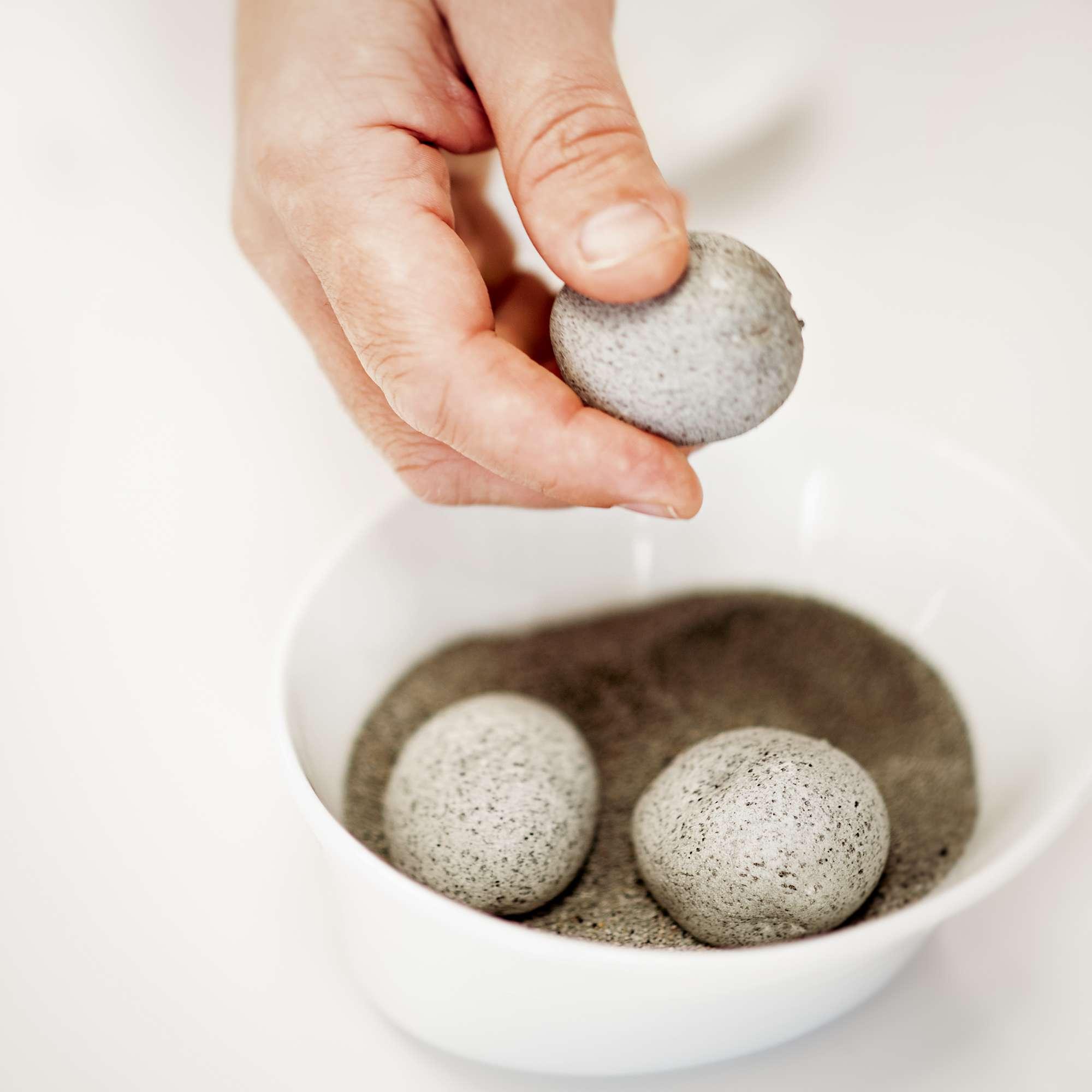 Ein Teller von Andoni Luis Aduriz: Essbare Steine