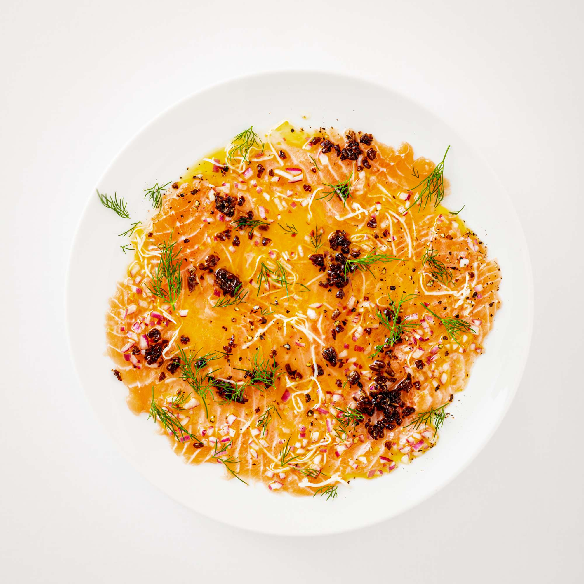 Nordisches Lachs-Ceviche