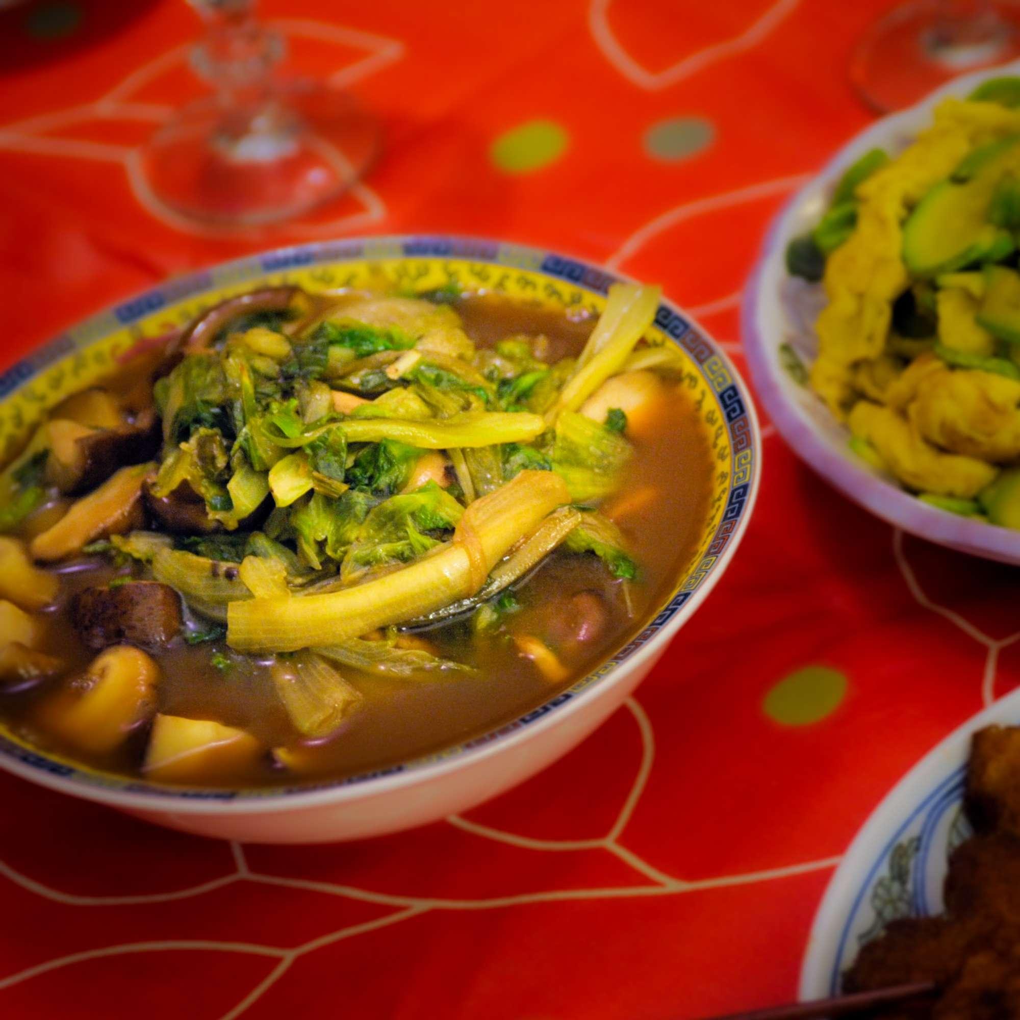 Xihuluchaojidan – Zucchini mit Ei