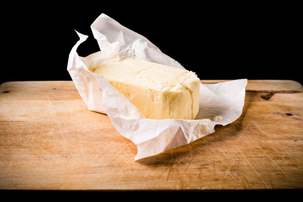 Beurre baratté en Deux-Sèvres, demi-sel
