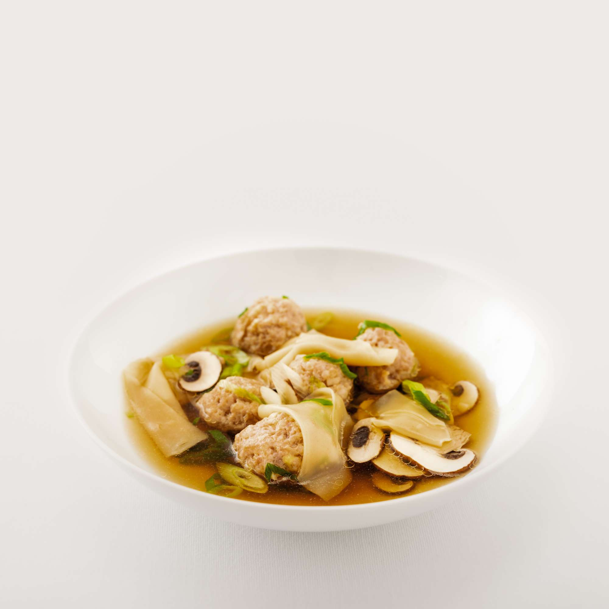 Wantan-Suppe Dekonstruiert