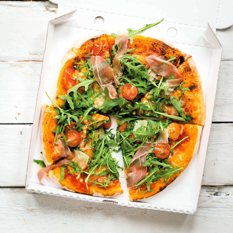 Pizza Rucola Schinken