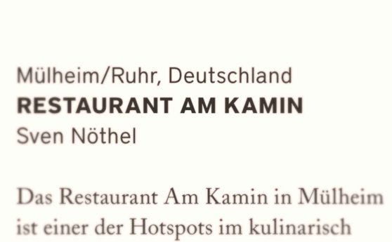 Restaurantkritik: Restaurant am Kamin
