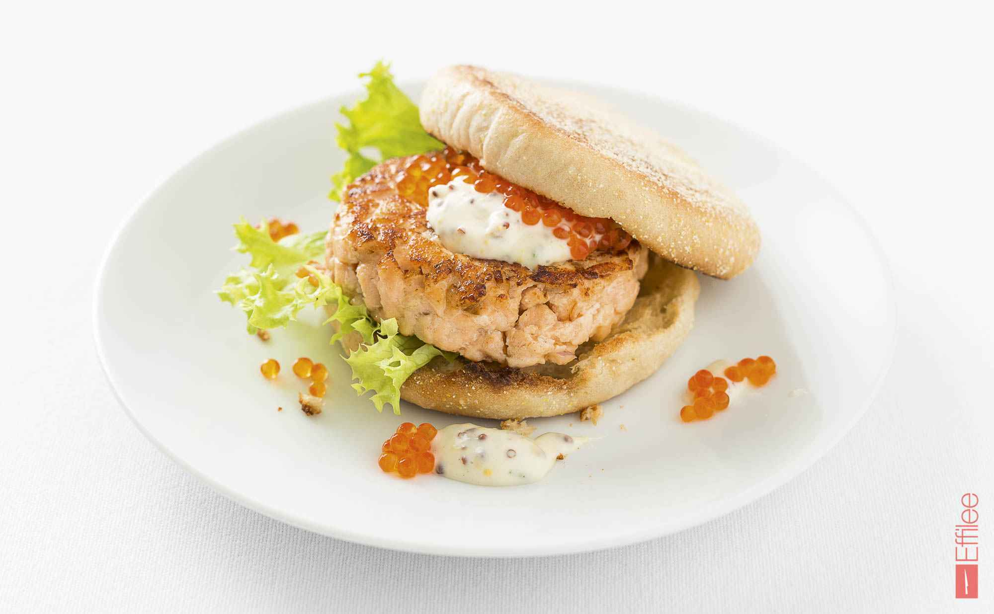 Go to Lachs-Tatar-Burger