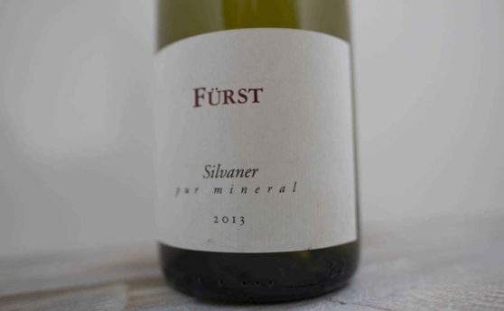 Weinkritik: Weingut Fürst, Silvaner pur mineral 2013, Franken, Deutschland