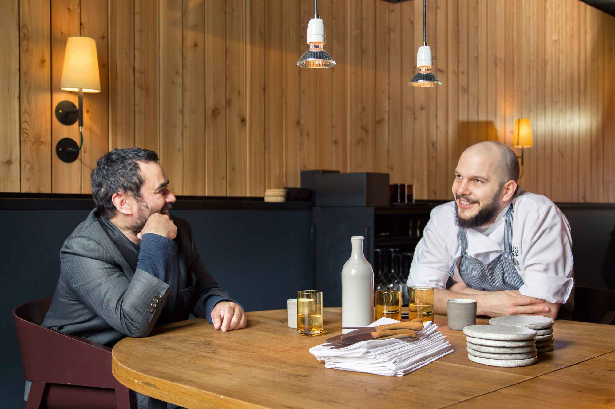 Micha Schäfer und Vijay Sapre im Gespräch
