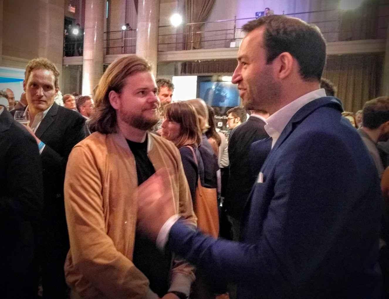 Magnus Nilsson im Gespräch mit Sternefresser Christian Stromann