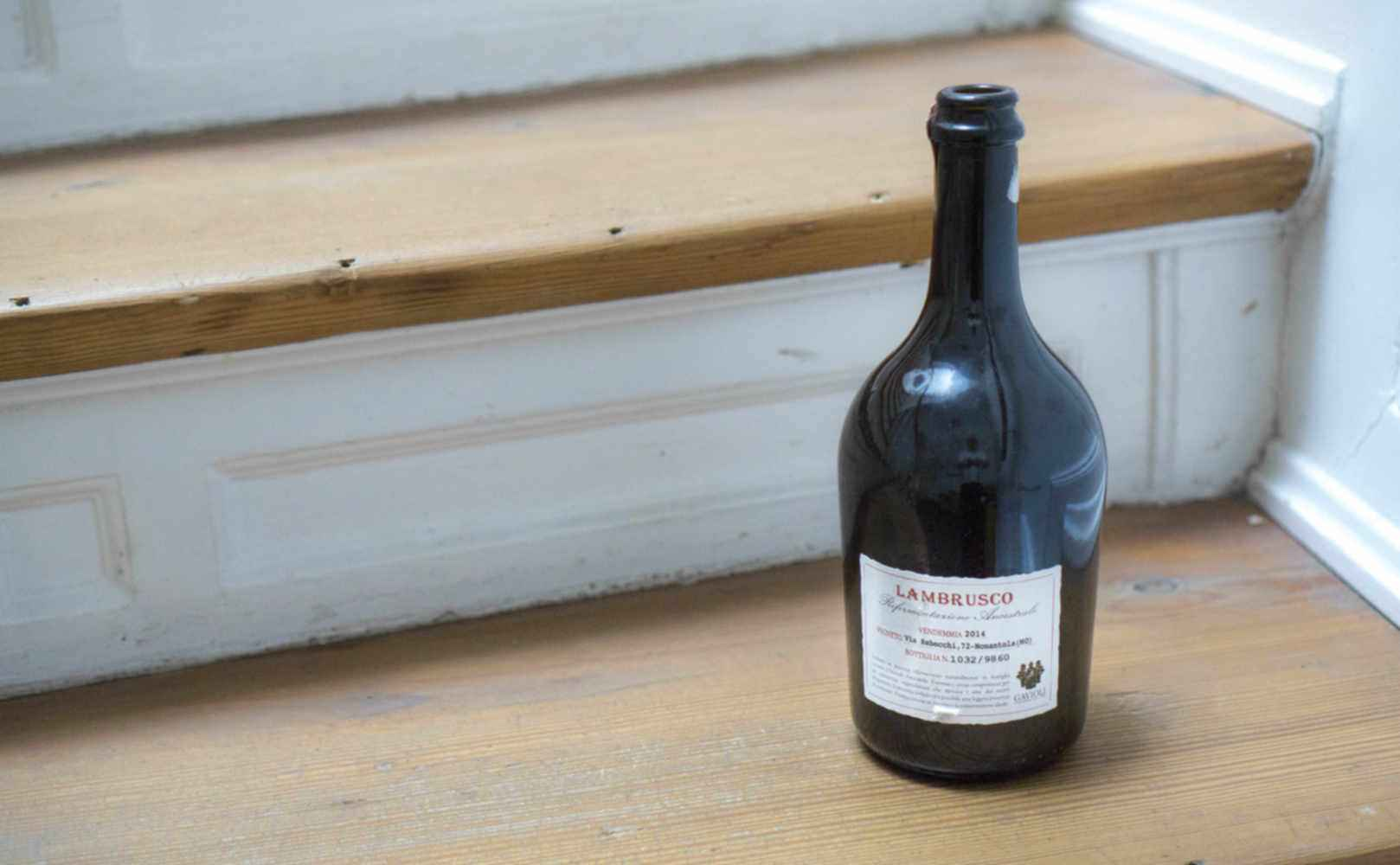 Lambrusco – trink nicht mit den Schmuddelkindern