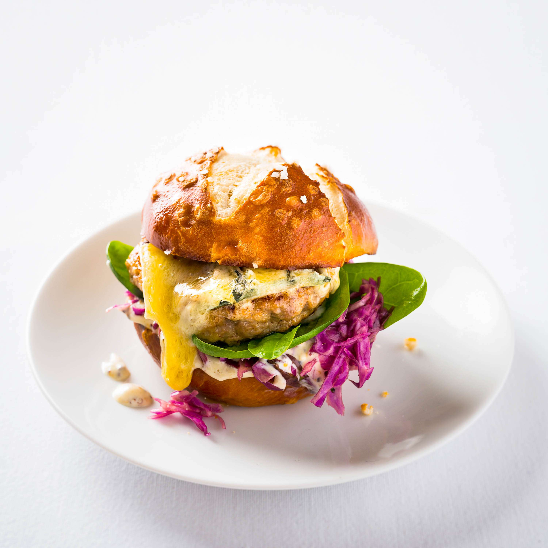 Rezept für Fleischpflanzerl-Burger