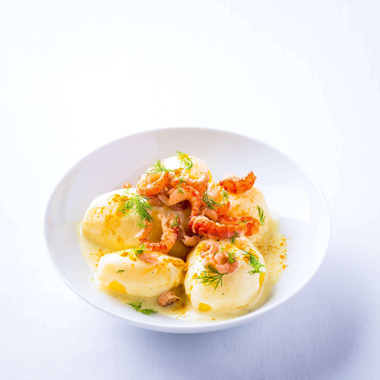 Rezept für Béchamel-Kartoffeln ›Curry Zitrone‹