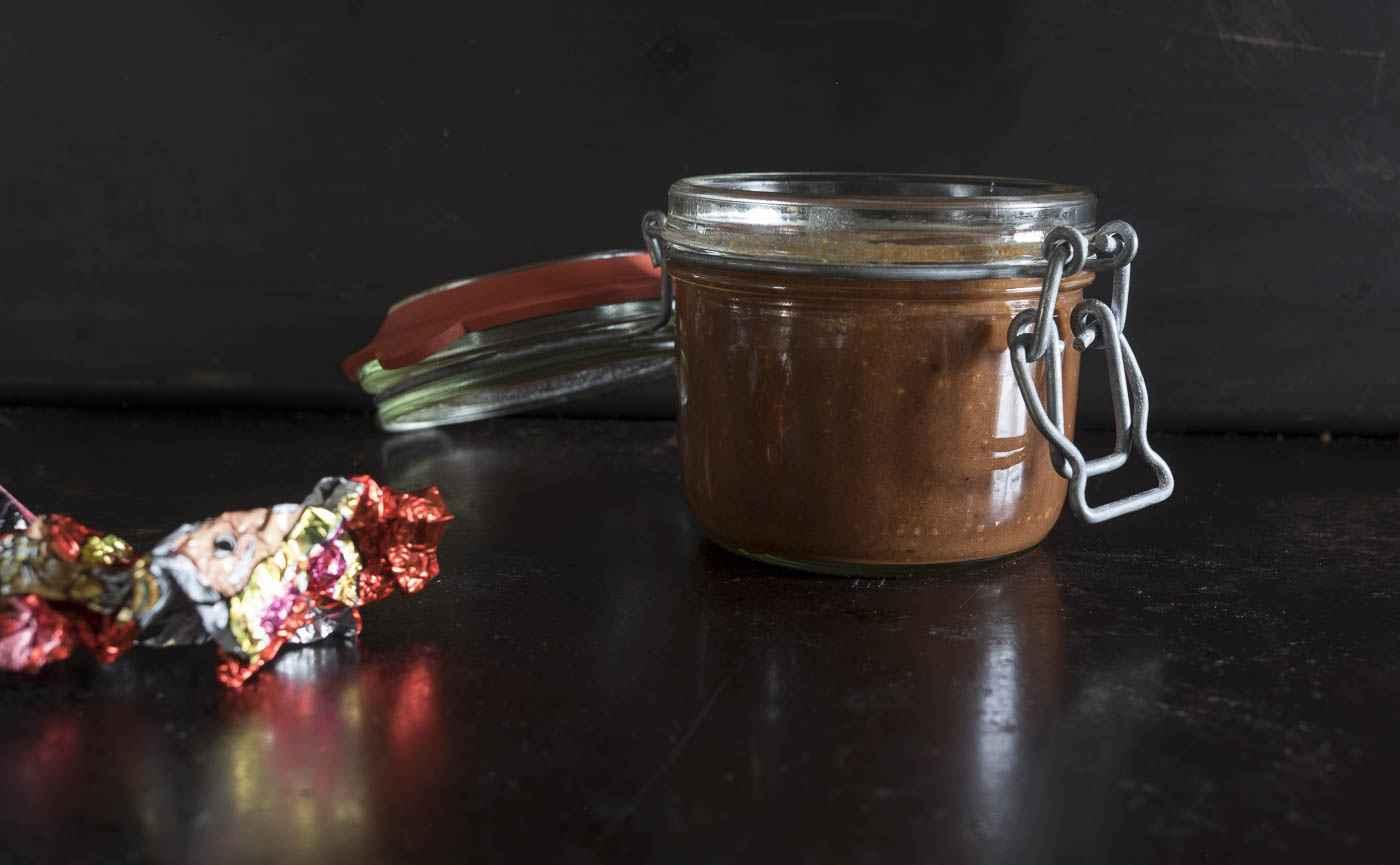 Rezept für Nuss-Nougat Creme vom Weihnachtsmann
