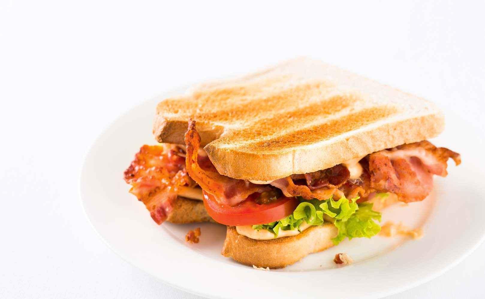 Rezept für BLT Sandwich