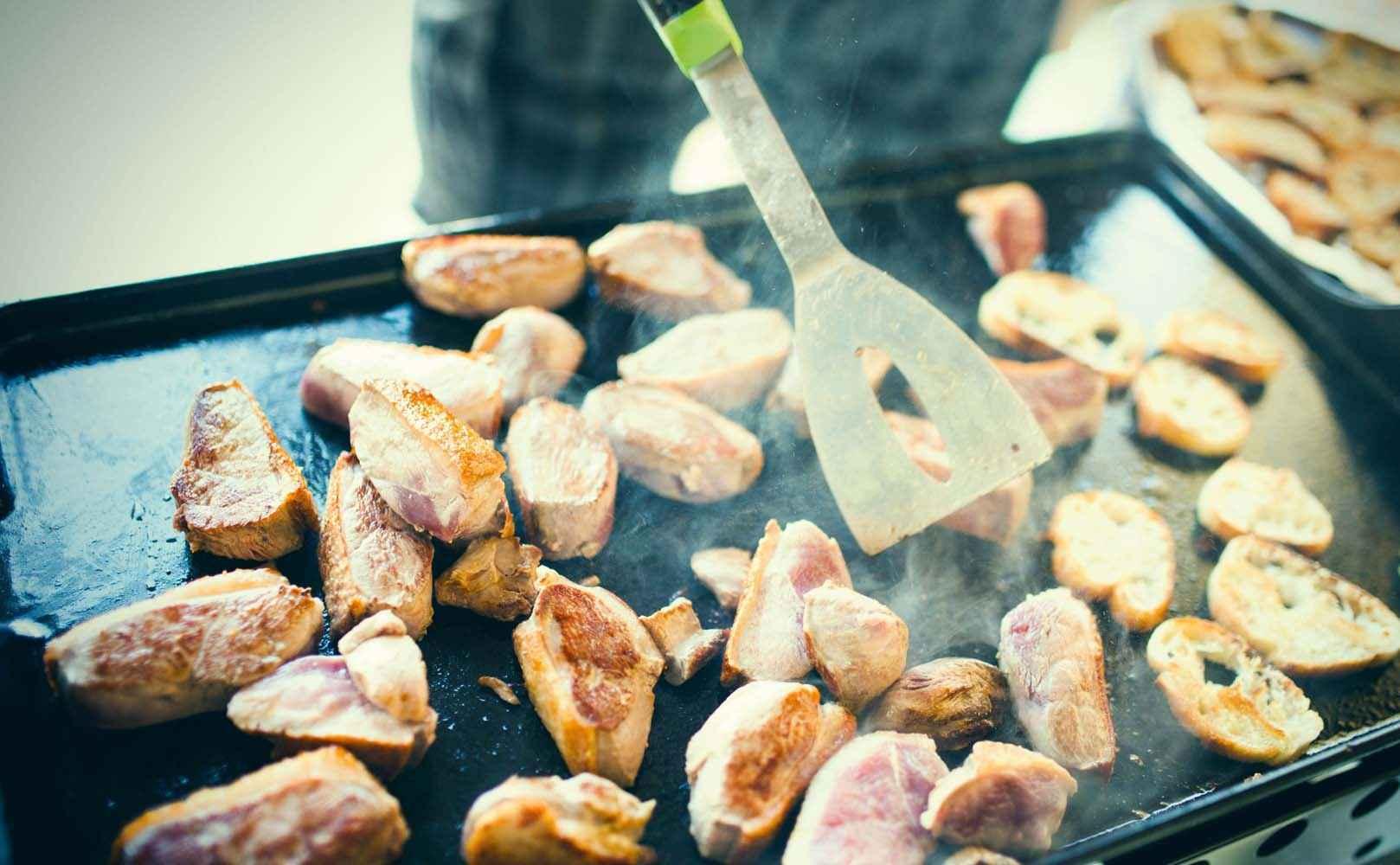 Rezept für Entenbrust mit CurryHonig