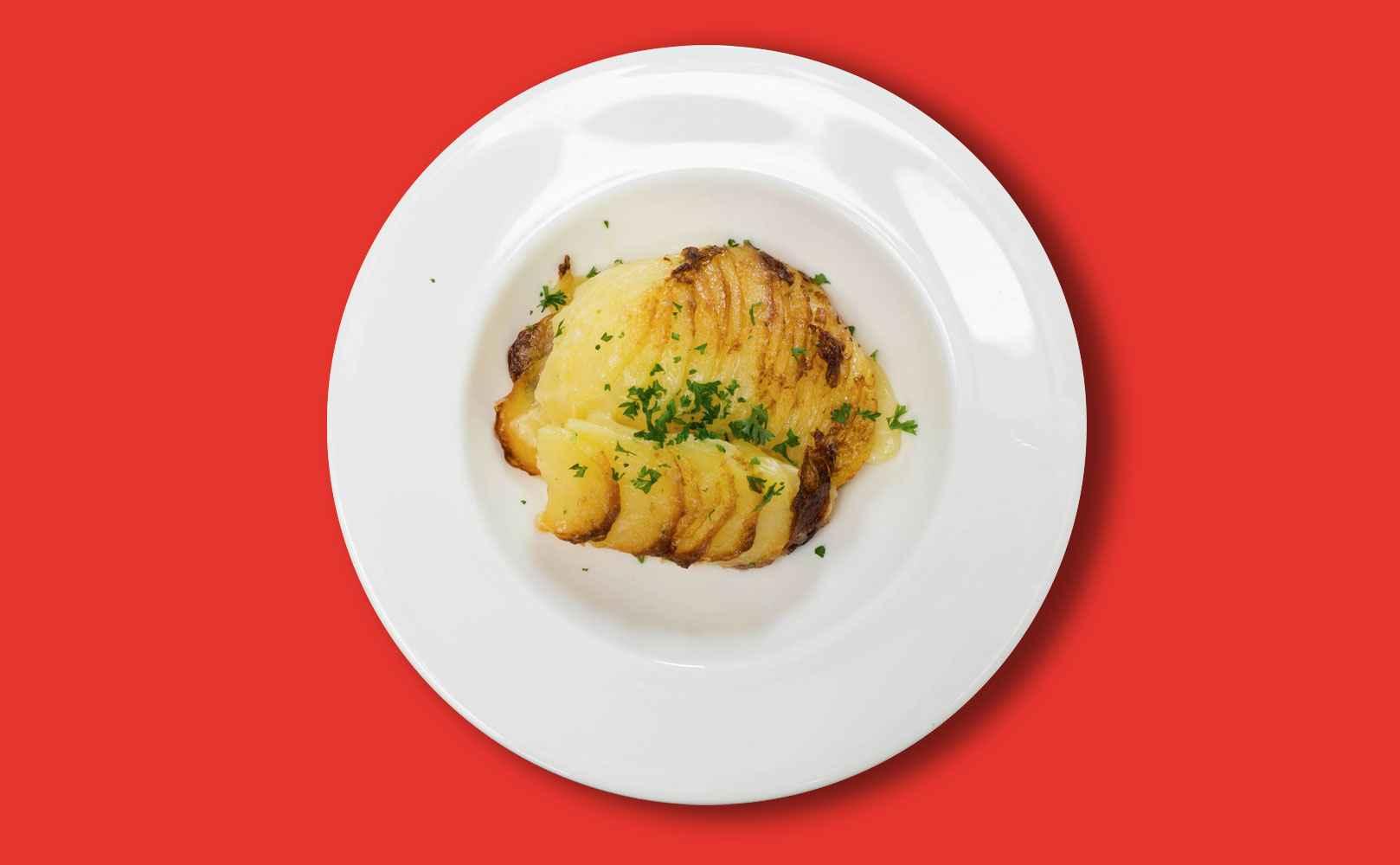 Go to Rezept für Kartoffelgratin
