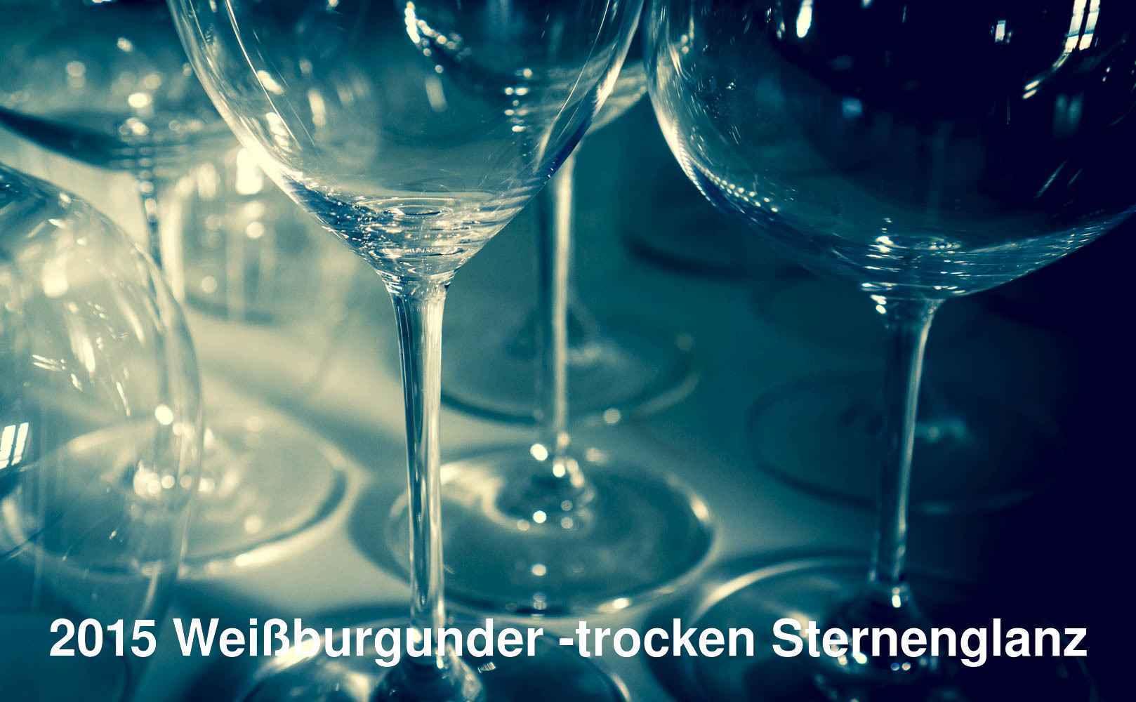 Go to 2015 Weißburgunder trocken Sternenglanz von Alexander Gysler aus Rheinhessen, Deutschland