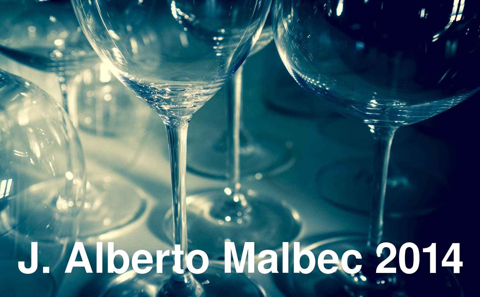 J. Alberto Malbec 2014 von Bodega Noemia aus Patagonien, Argentinien