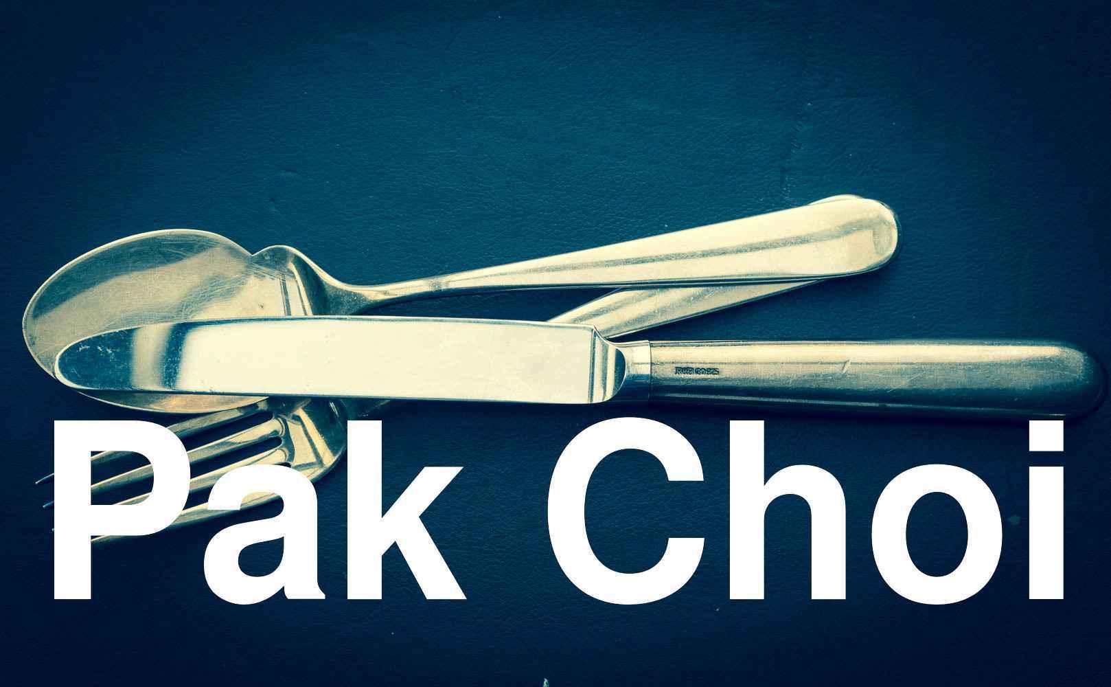 Restaurantkritik: Pak Choi in Frankfurt, Deutschland, Deutschland