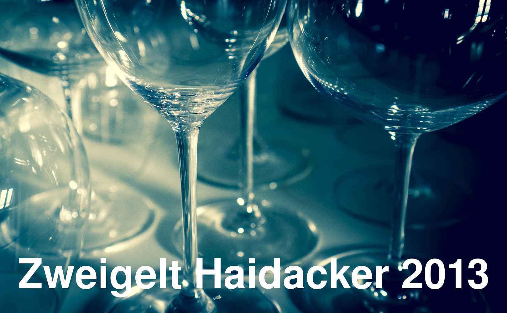 Zweigelt Haidacker 2013 von Weingut Netzl aus Carnuntum, Österreich