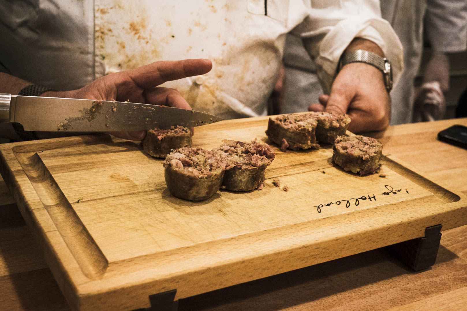 Go to Rezept für Lamm-Andouillette  mit Bries