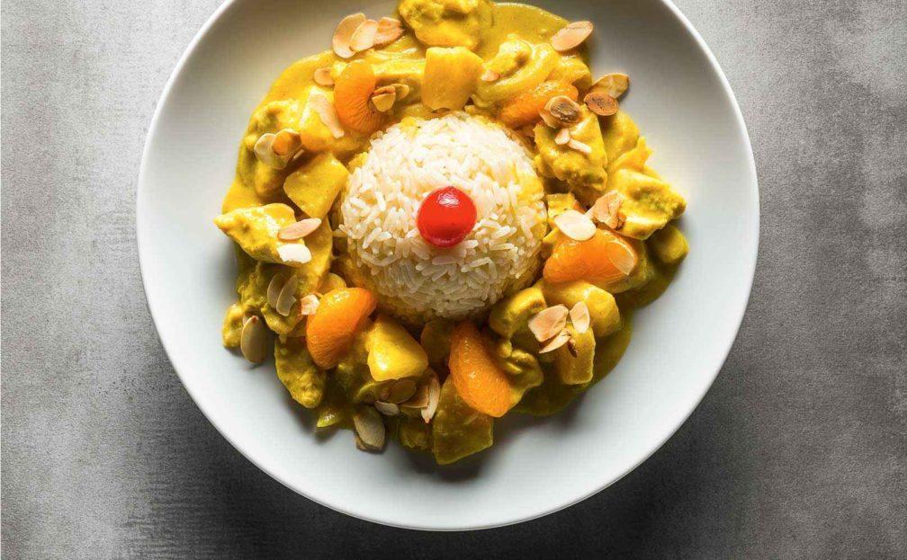 Rezept für »Exotisches« Curryhuhn
