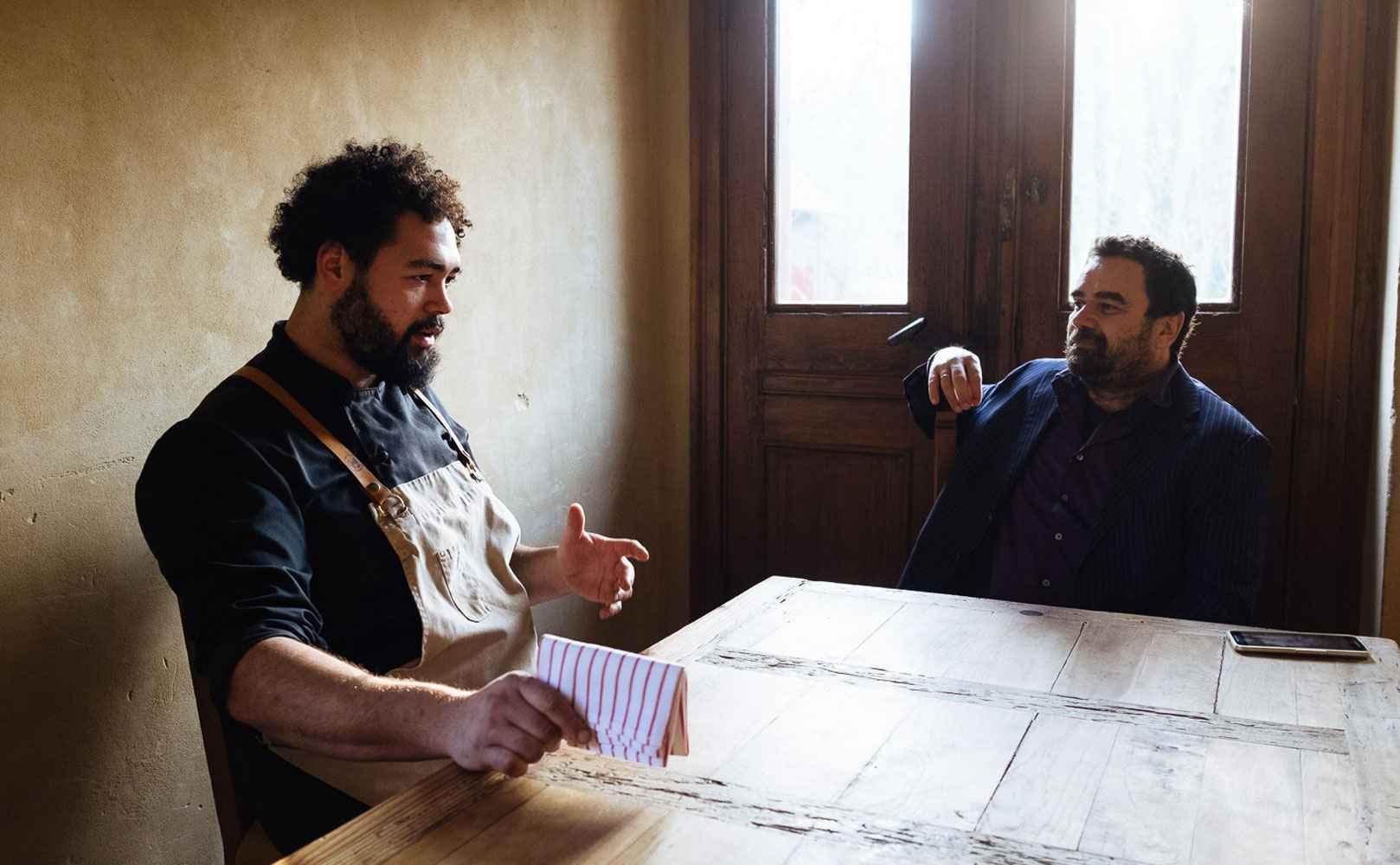 Wenzel Pankratz im Gespräch mit Vijay Sapre