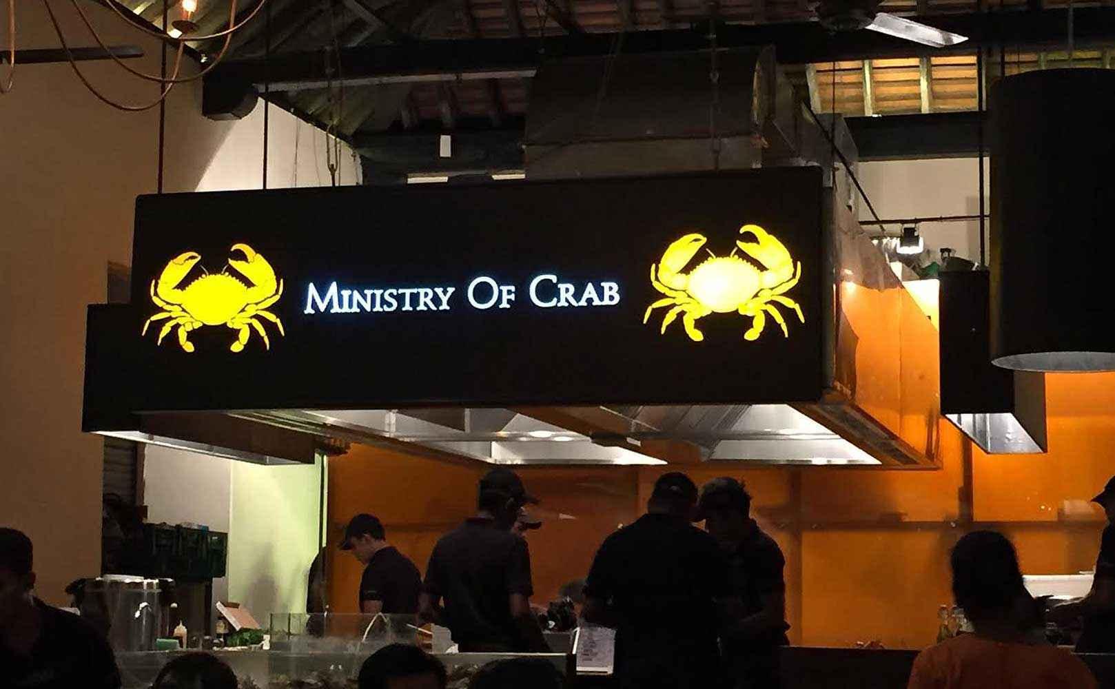Go to Restaurantkritik: Ministry of Crab in 4, Old Dutch Hospital, Colombo 01, Sri Lanka