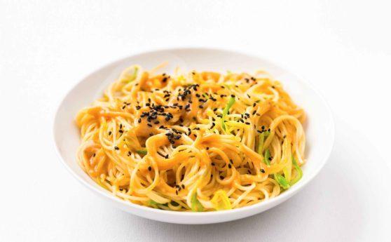 Rezept für Lauch-Miso-Spaghetti