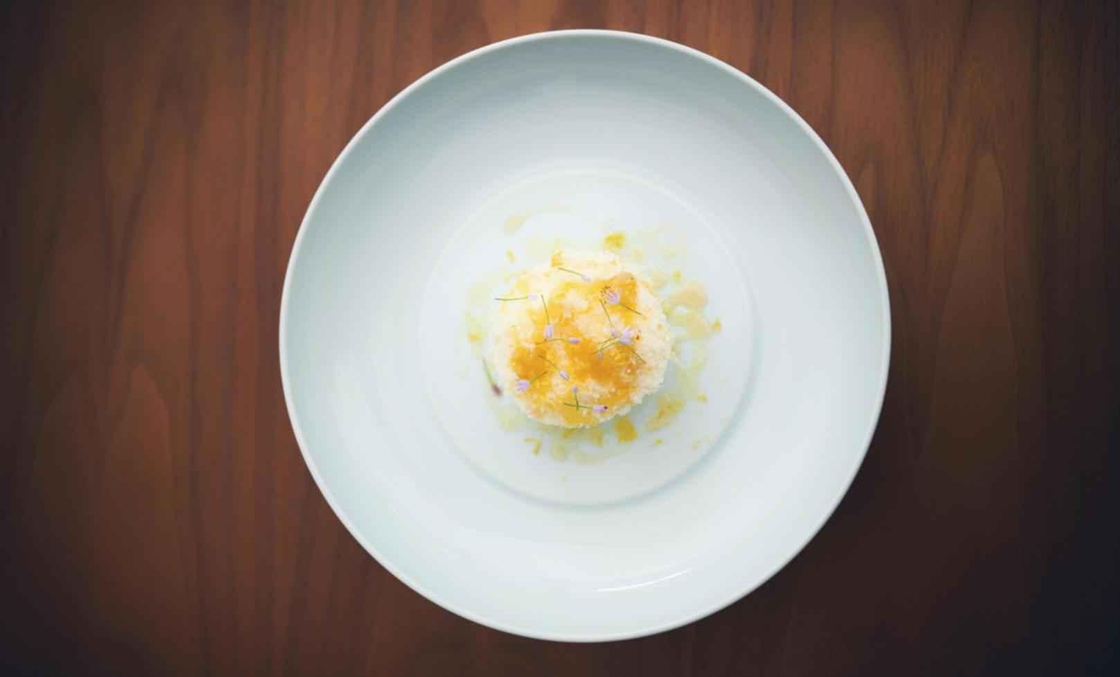 Rezept für Burrata mit Crème Fraîche