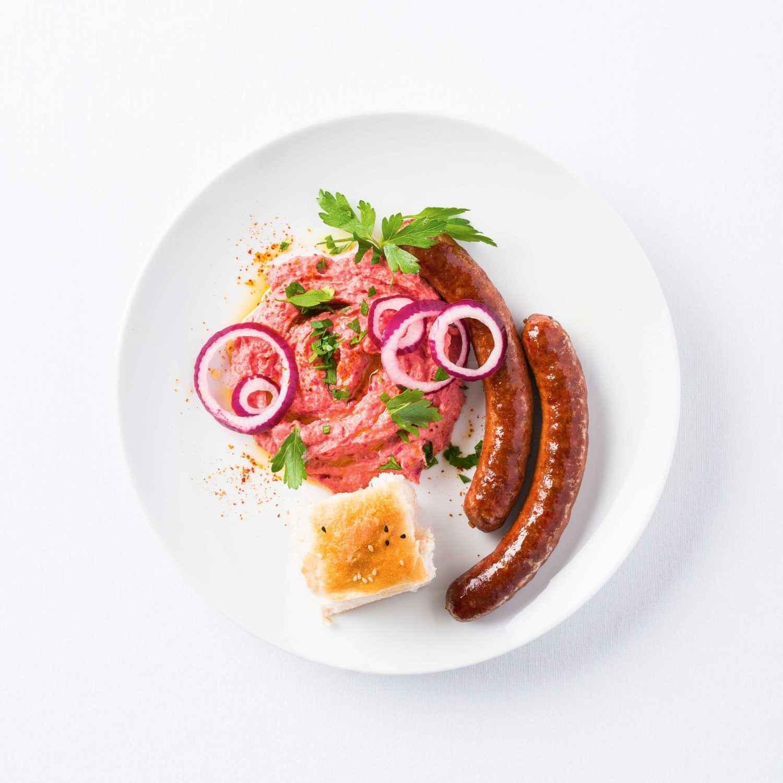 Go to Rezept für Pastinaken-Rote-Bete-Hummus