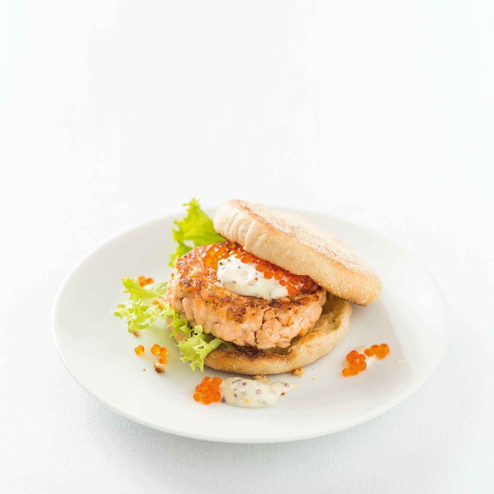 Lachs-Tatar-Burger