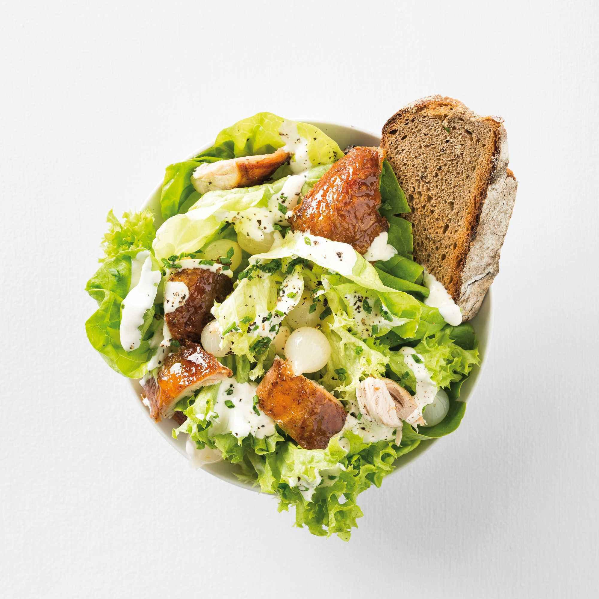 caesar salad auf norddeutsche art effilee. Black Bedroom Furniture Sets. Home Design Ideas