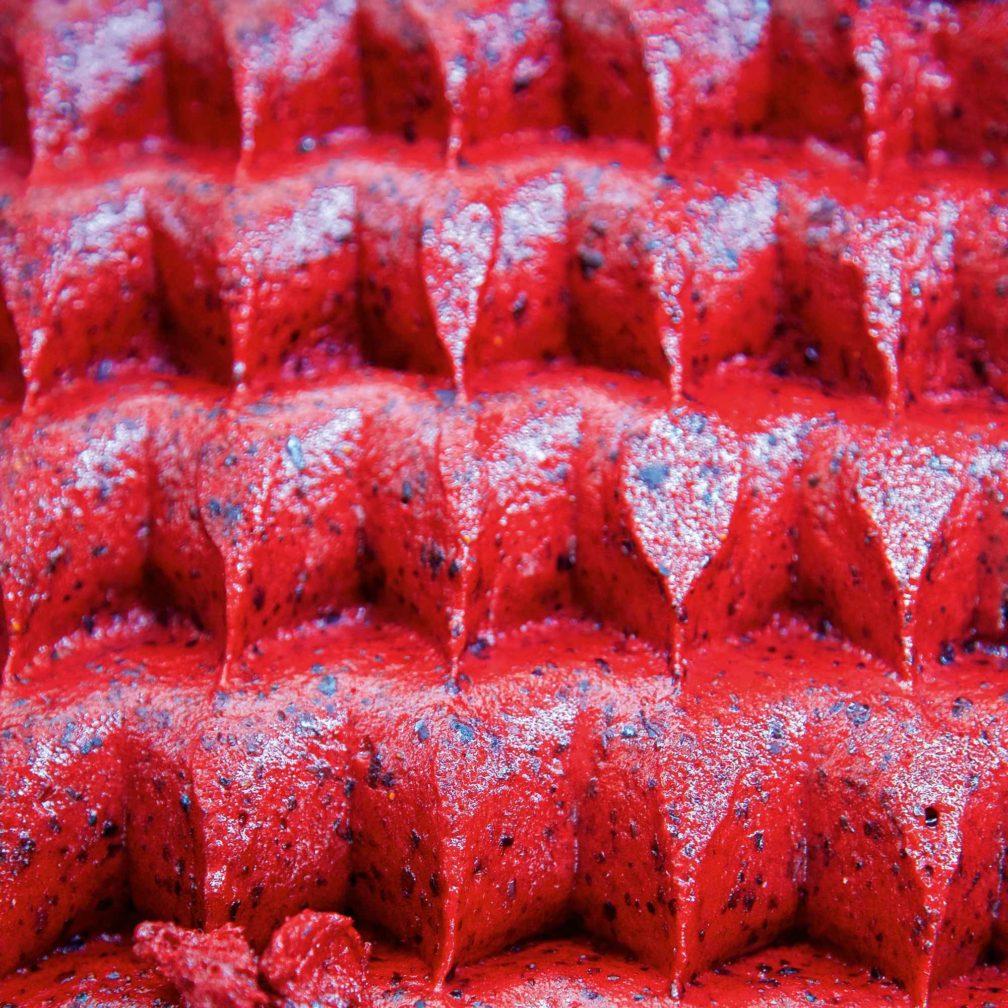 Erdbeer-Basilikum-Eis