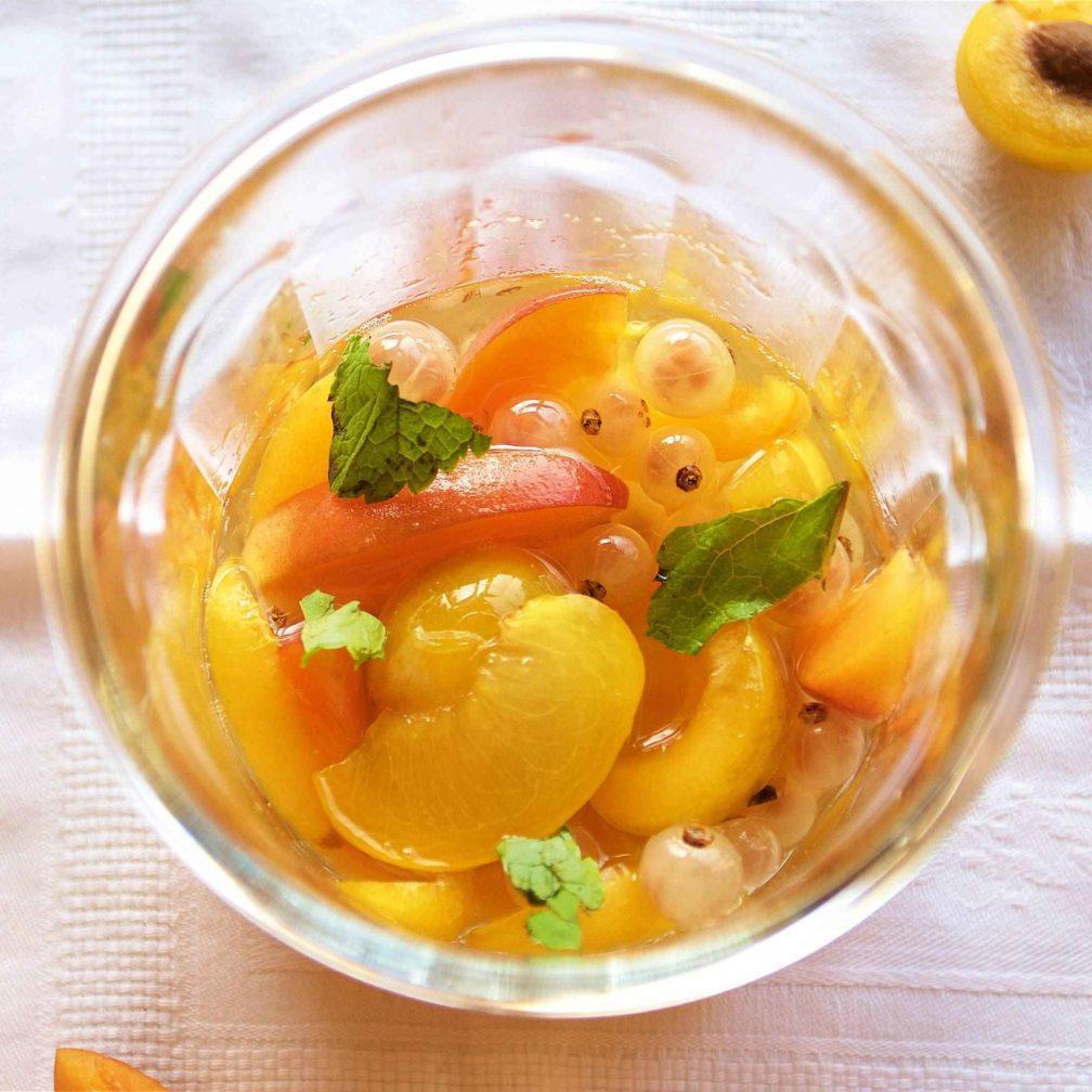Soupe des fruits d'été