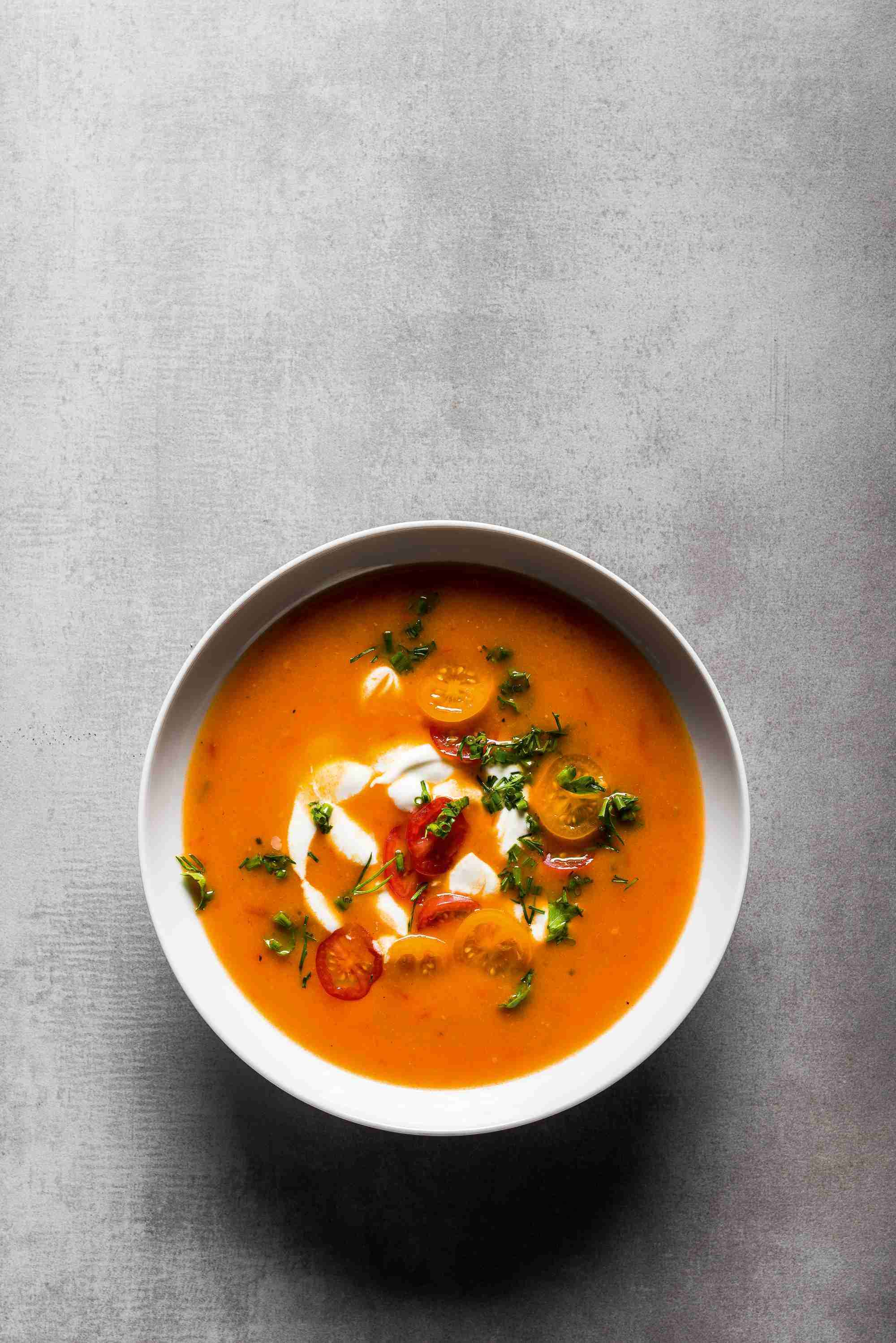 Stevan Pauls Deutschstunde: Tomatensuppe · Effilee