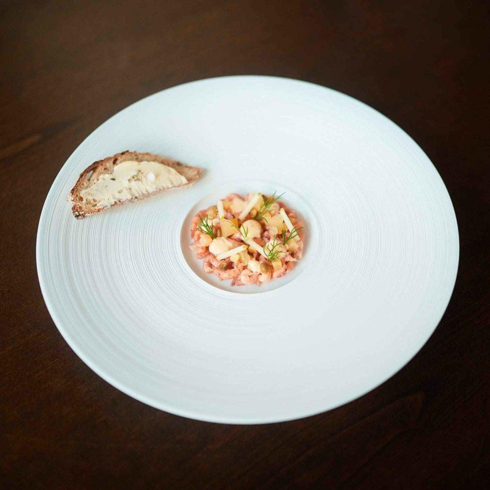 Nordseekrabben »Sauce Remoulade«