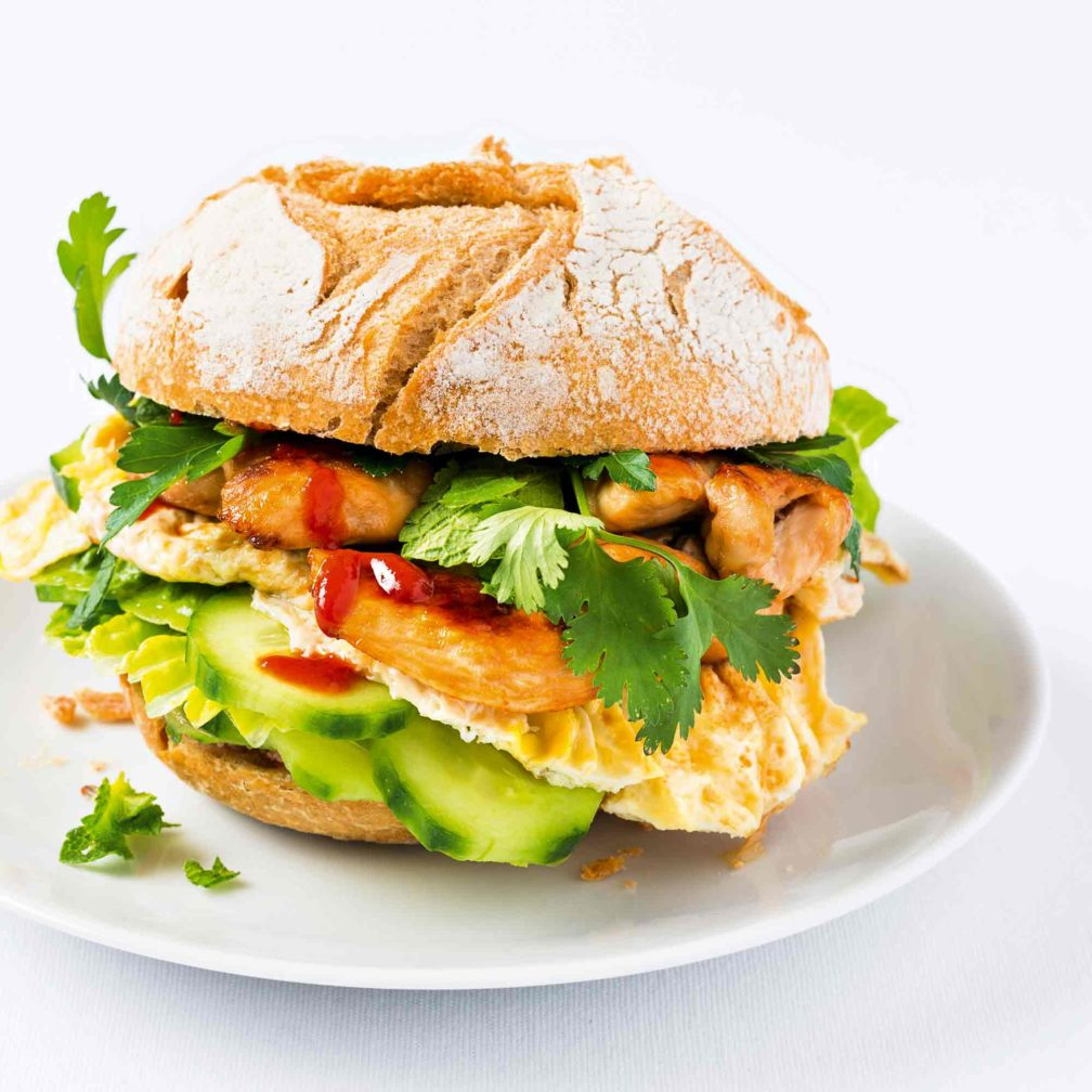 Bánh mì Chicken & Egg