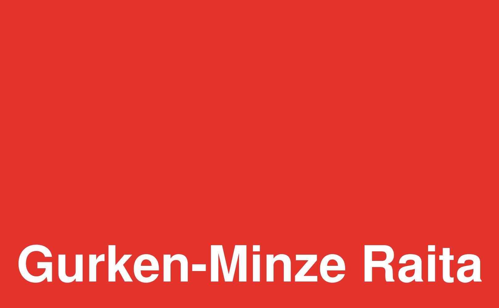 Gurken-Minze Raita