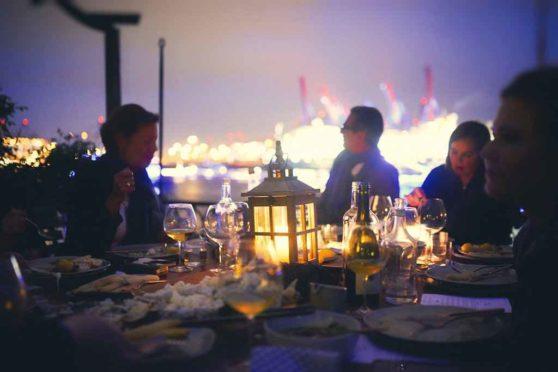 Supperclub 'Islynt' mit der Deutschen See