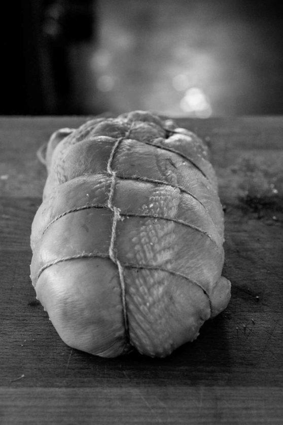 … noch ein wenig in Form gebracht, und in den Ofen geschoben.