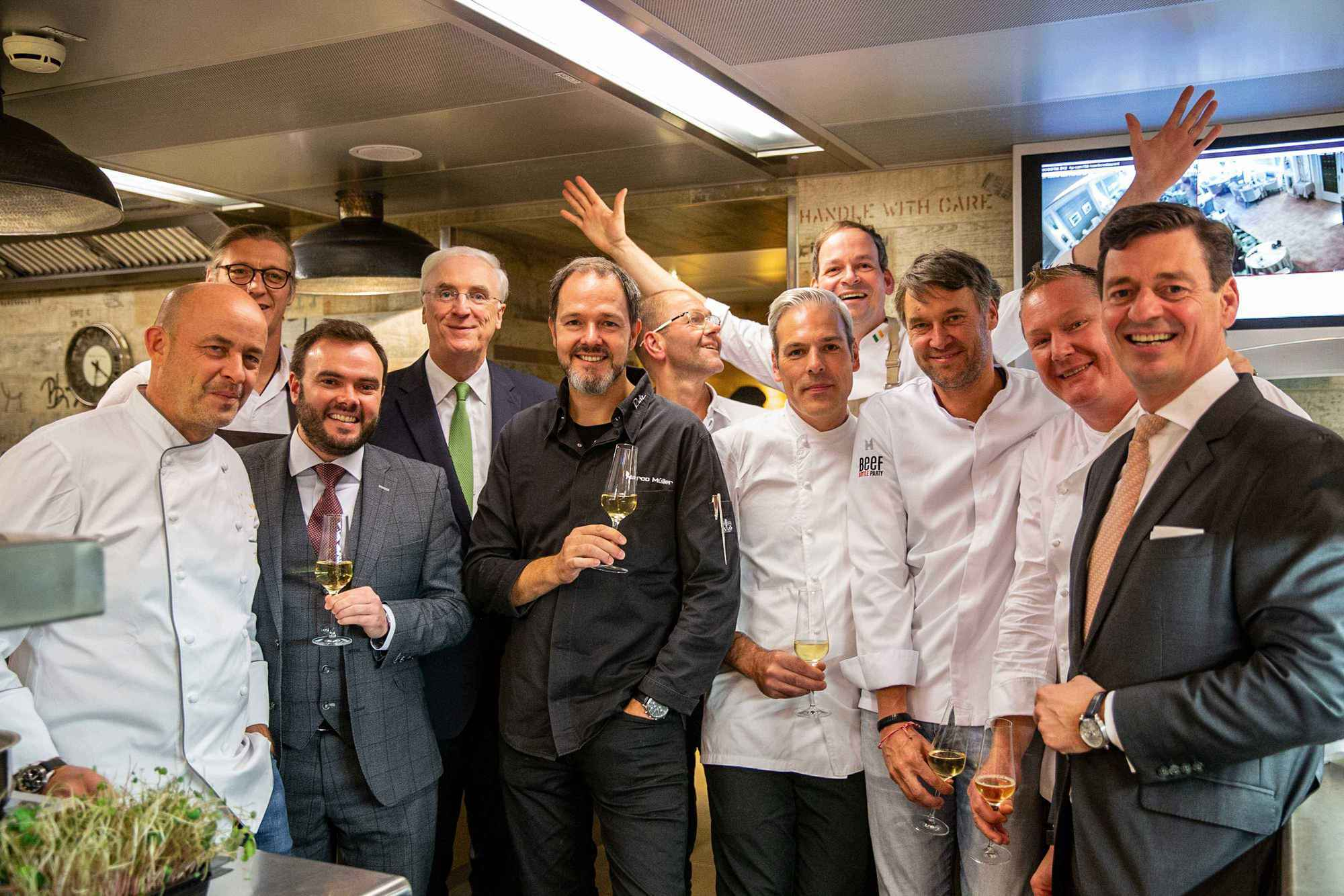 Der Chefs' Irish Beef Club im Haerlin