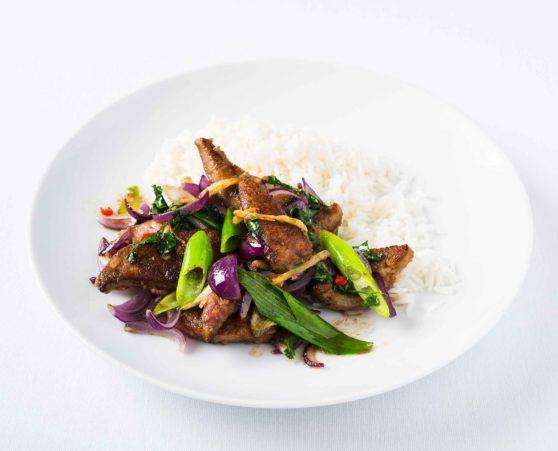 Leber Asian Style