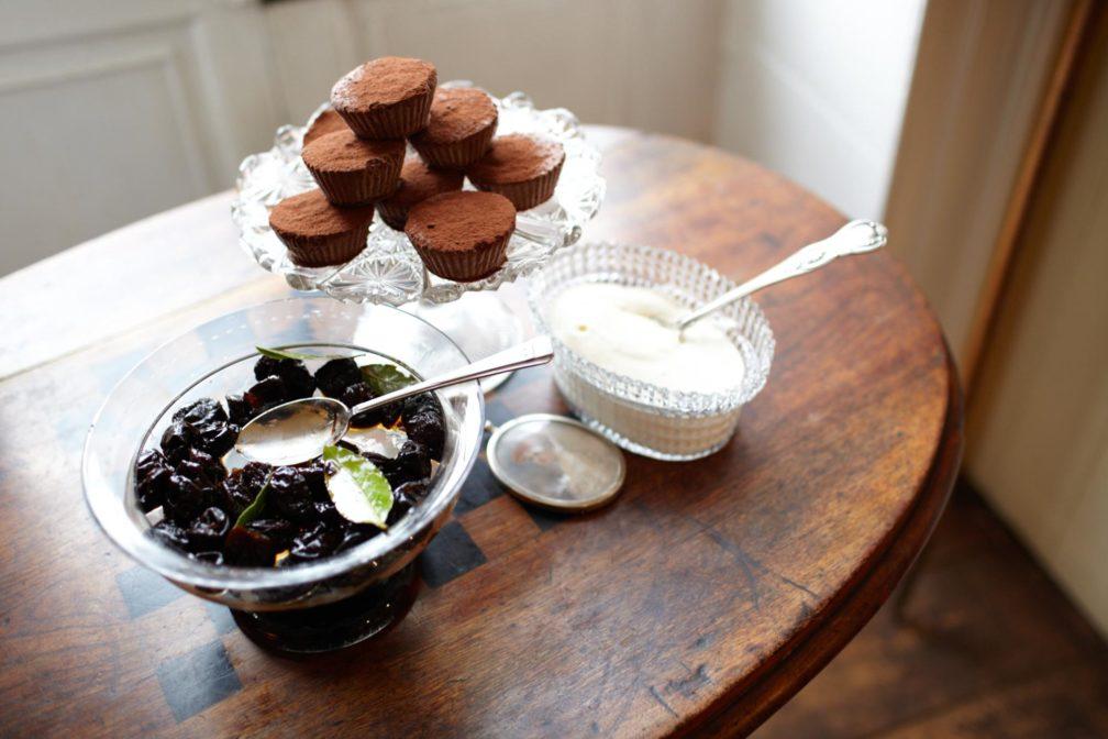 Schokoladeneis-Cupcakes